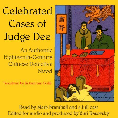 Celebrated Cases of Judge Dee (Dee Goong An)  Audiolibri