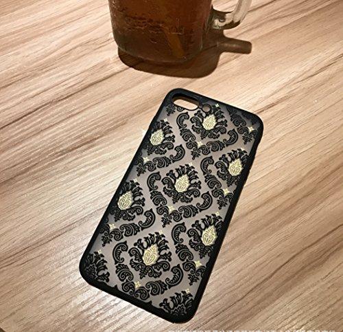Coque iPhone 7,Manyip Coque Protection complète en cerclage à 360 °,La nouvelle main glissante Coque pour iPhone 7,Modèle creux LD01