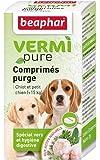 Beaphar - VERMIpure, comprimés hygiène digestive - chiot et petit chien (< 15kg)