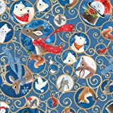 Quilting Treasures QT71 Weihnachts-Woodland-Stoffe, 100%