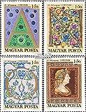 Ungarn 2603A-2606A (kompl.Ausg.) 1970 Tag der Briefmarke (Briefmarken für Sammler)