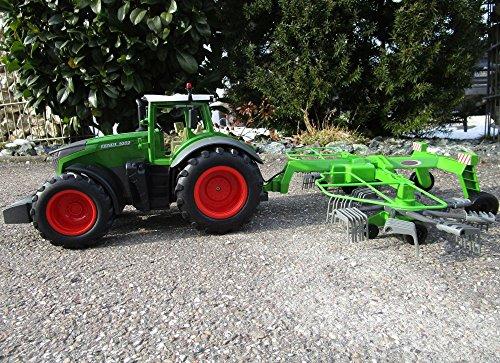 RC Traktor kaufen Traktor Bild 1: RC Traktor FENDT 1050 SCHWADER-Anhänger XL Länge 70cm