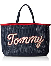 Tommy Hilfiger - Th Summer Tote, Bolsos totes Mujer, Blau (Tommy Navy Print), 10x36x45 cm (W x H D)