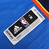 adidas Men's Oklahoma City Thunder NBA Russell Westbrook Swingman Jersey Blue (3XL)