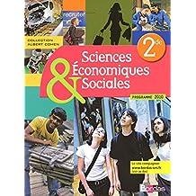 Sciences économiques et sociales 2de • Coll. Albert Cohen • Manuel de l'élève (Éd. 2010)
