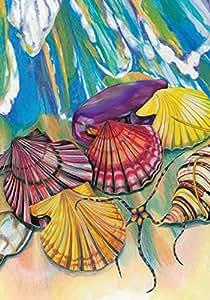 "Toland Home Garden Beach Bounty Dekorative Garten Flagge, S-12.5 x 18"""