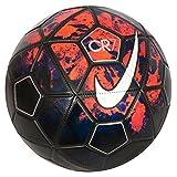 #4: Nike Christiano Ronaldo Cr7 Prestige Lava Graphic/ Metal Silver Football - 2015, Size-5