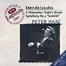 Mendelssohn: Symphony No.3; A Midsummer Night's Dream