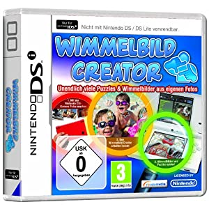 Wimmelbild – Creator – [Nintendo DS]