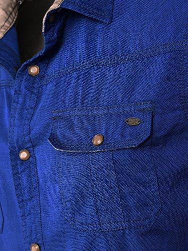 Tokyo Laundry Men - Chemise casual - Homme bleu clair