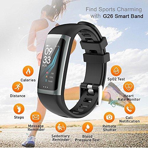Herrenuhren Sanda Luxus Smart Uhr Ip67 Wasserdicht Heart Rate Monitor Blutdruck Fitness Tracker Männer Frauen Smartwatch Für Ios Android Starke Verpackung Digitale Uhren