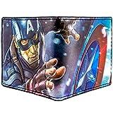Marvel Captain America Steve Rogers Bleu Portefeuille