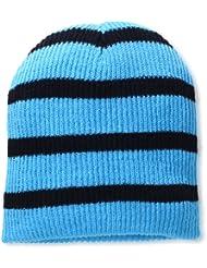 Neff Daily Stripe Beanie Gorros Unisex adulto, Azul (Cyan / Black), Única