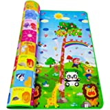 RYLAN Double Sided Water Proof Baby Mat Carpet Baby Crawl Play Mat Kids Infant Crawling Play Mat Carpet Baby Gym Water…