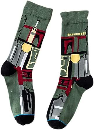 Calzini unisex, calzini elastici Star Wars traspiranti Calzini a metro media in cotone per uomo e donna