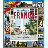 365 Days in France 2015 Calendar