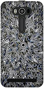 The Racoon Grip printed designer hard back mobile phone case cover for Asus Zenfone 2 Laser ZE550KL. (Mandala)