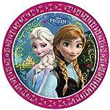 23cm Disney Frozen Party Plates, Pack of 8