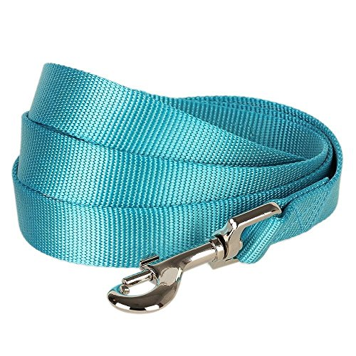 blueberry-pet-durable-classic-solid-color-dog-lead-150-cm-x-2cm-in-medium-turquoise-medium