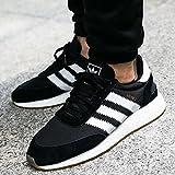 adidas Iniki Runner, Sneaker a Collo Basso Uomo, Nero (Core Black/Ftwr White/Gum 3), 43 1/3 EU