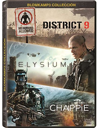 elysium dvd CHAPPIE+ELYSIUM+DISTRICT 9 (Spanien Import, siehe Details für Sprachen)