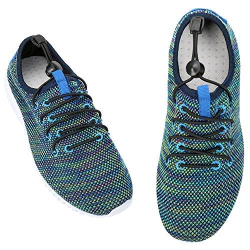 Alexis Leroy Chaussures de Running Course Empeigne en respirante et légère femme Violet