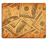 MSD Natural Rubber Mousepad IMAGE 20006404 old dollar bills vintage background