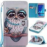 Chreey Coque Samsung Galaxy J7(2016) / SM-J710 (5.5 pouces),PU Cuir Portefeuille Etui Housse Case Cover ,carte de crédit Fentes pour ,idéal pour protéger votre téléphone