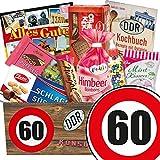 Süßigkeiten Box ++ DDR Produkte ++ Zahl 60 ++ Geburtstags Geschenk Mutter