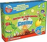 Science4you-experimentos Fábrica de los experimentos en la Cocina, Juguete Educativo y científico, 8a&ampntildeos (600256)