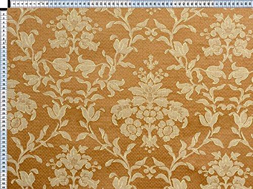 Tessuto da tappezzeria, rivestimento in tessuto, tessuto da tappezzeria, tessuto, tessuto, tessuto - Fiorella, beige - bella jacquard con motivi floreali di Web della