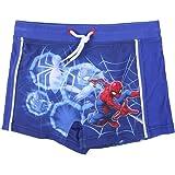 Spiderman Bañador para Niños, Slip Cortos de Natación Infantil, Bañador Transpirable Secado Rápido, Talla 2 a 6 Años