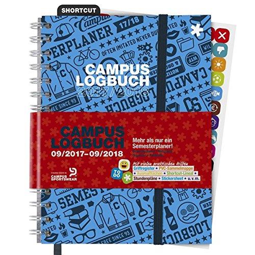 Preisvergleich Produktbild CampusLogbuch 2017/18: Der Semesterplaner für das WS 2017/18 & SS 2018