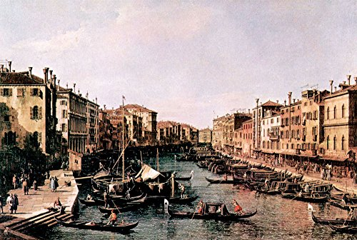 Das Museum Outlet - Grand Canal In Venedig von Edouard Manet - A3 Poster