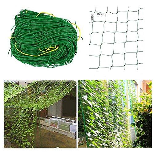 Ranknetz Rankhilfe Pflanzennetz Gartennetz Stütznetz Kletterpflanzen 6 Größen (1,8x2,7m)