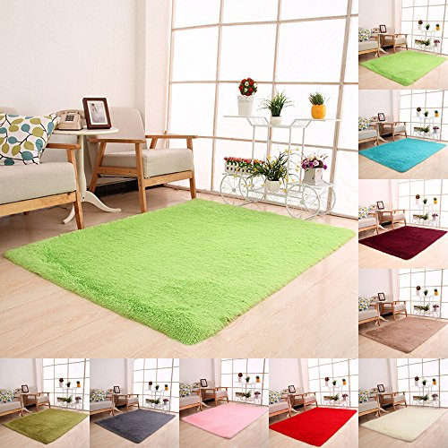 Flauschige Teppiche Anti Skid Shaggy Bereich Teppich Esszimmer Home Schlafzimmer Teppichboden Matte Wenn Sie Yoga oder Baby spielen, wenn Sie eine solche Matte brauchen