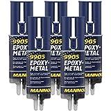 5x 24 ml 2K-Epoxy-Metall Mannol