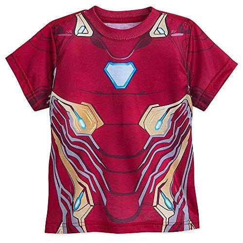 Marvel Iron Man Kostüm T-Shirt für Jungen - Avengers: Infinity War - Mehrfarbig - Medium