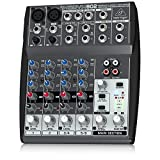 Behringer XENYX 802 mixer audio per DJ, studio e karaoke - Behringer - amazon.it