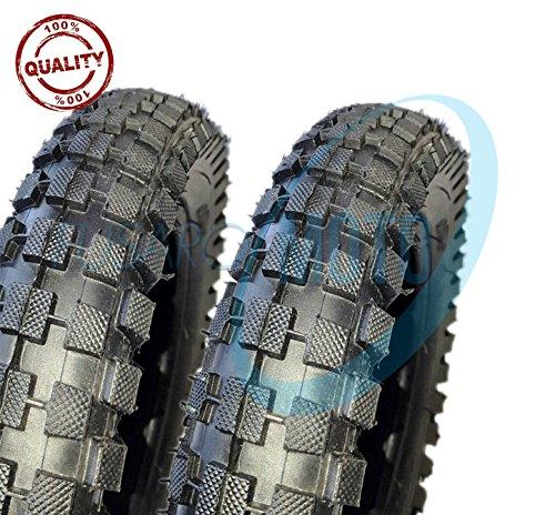 2Reifen Gummi Reifen Straßenreifen Moto Mini Cross Pocket Bike Pocket Minicross Motorcross 12x 1/22.75