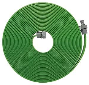Tubo irrigatore GARDENA: Nebulizzatore per l'irrigazione di zone lunghe e strette, 7,5 m, pronto all'uso, verde, accorciabile/allungabile (1995-20)