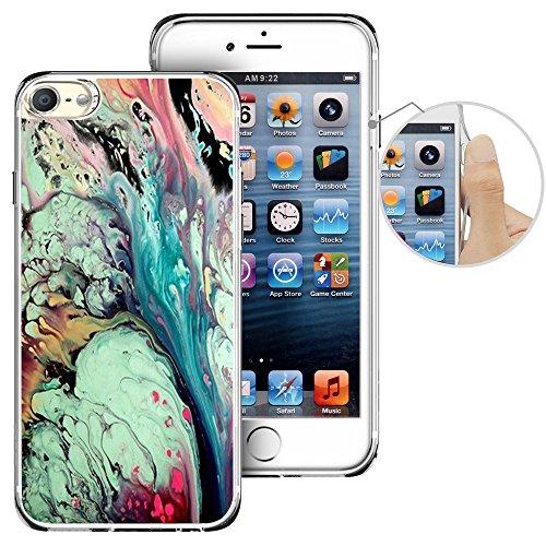 Für Ipod Touch 6. Fall, laaco Schöne Klar TPU Case Gummi Silikon Haut Cover Für Apple iTouch 6-Vintage Nautisches Karten, iTouch (58)