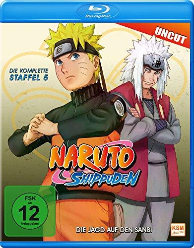 Naruto Shippuden - Staffel 5: Die Jagd auf den Sanbi - Uncut [Blu-ray] (Naruto Shippuden Anime)
