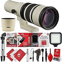 Oshiro 500 mm/1000 mm f/6.3 Super Telephoto Wild Life lente para Canon E...