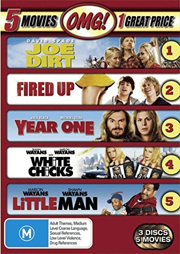 fired-up-joe-dirt-little-man-white-chicks-year-one-non-uk-format-pal-region-4-import-australia