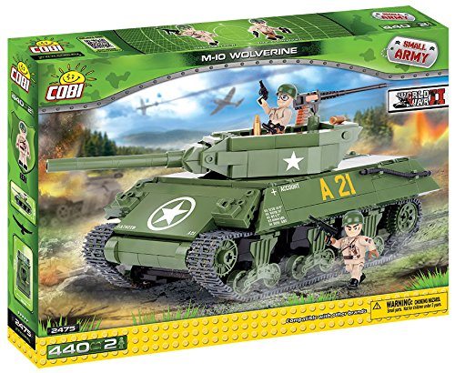 COBI SMALL ARMY WWII - 2475 - M-10 WOLVERINE