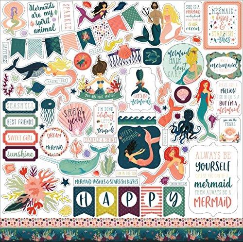Echo Park Mermaid Tales Element Sticker (Park-element)