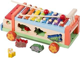 Shumee Wooden Musical Animal Sorting Truck (3 years+) - Create Music