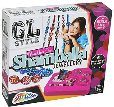 Grafix Girls Life Style Make Your Own Shamballa Jewellery Craft Set For Children