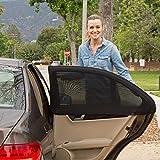 BestMall XT Sun Kids Lot de 2 pare-soleil universels pour fenêtre de voiture avec...